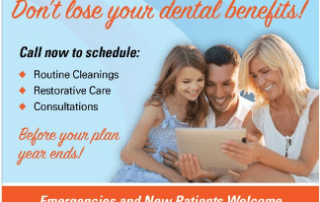 Get Patients to Claim End of Year Benefits with these Dental Ads