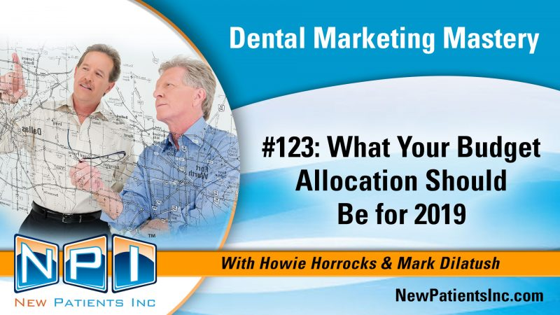 What your dental clinic marketing budget allocation should be for 2019