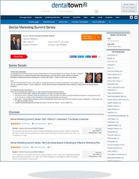 Dental Marketing for Dentists - a CE Course