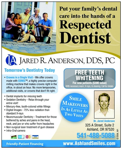 Dental Office Newspaper Ad