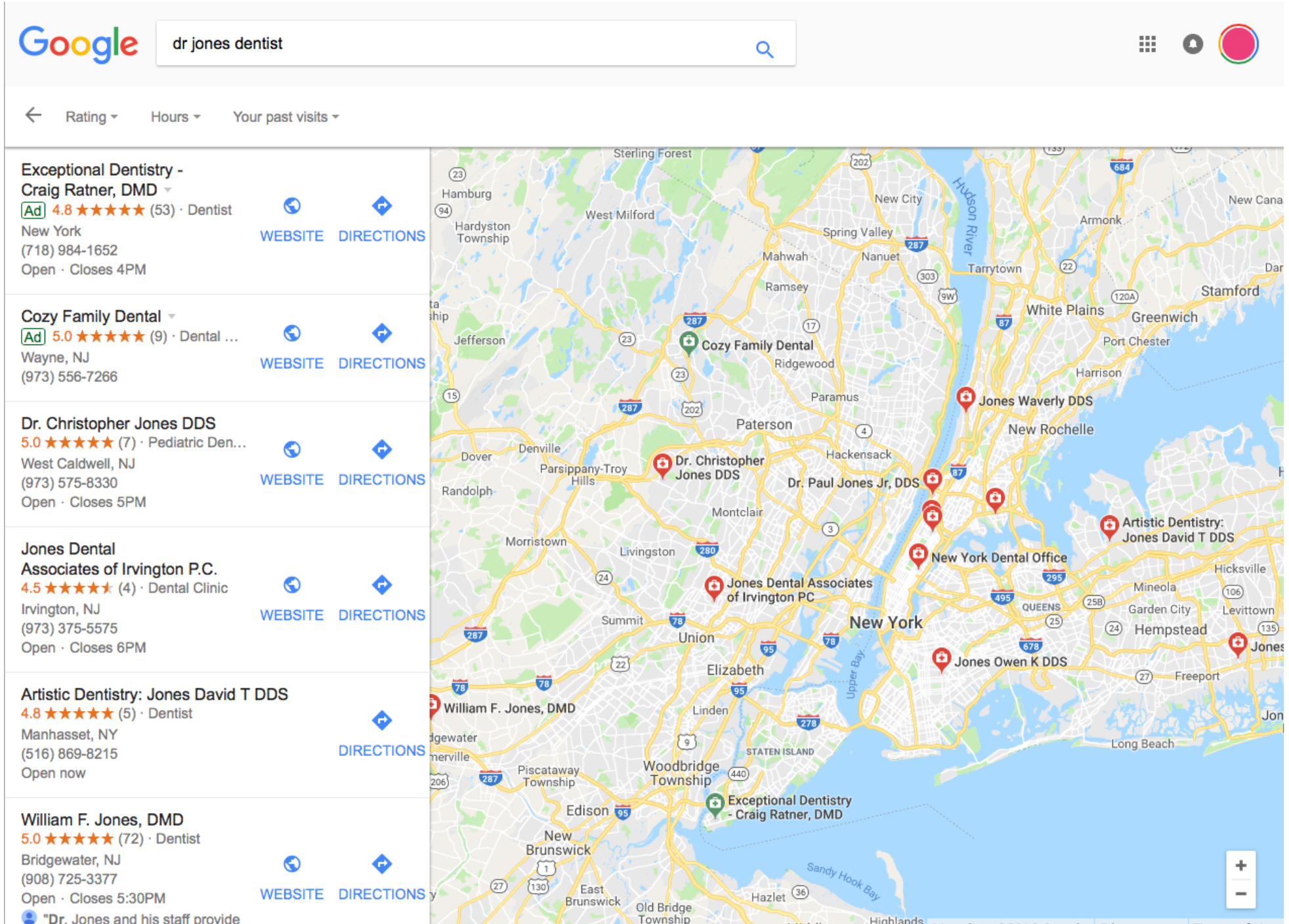Google-reviews-map-listing
