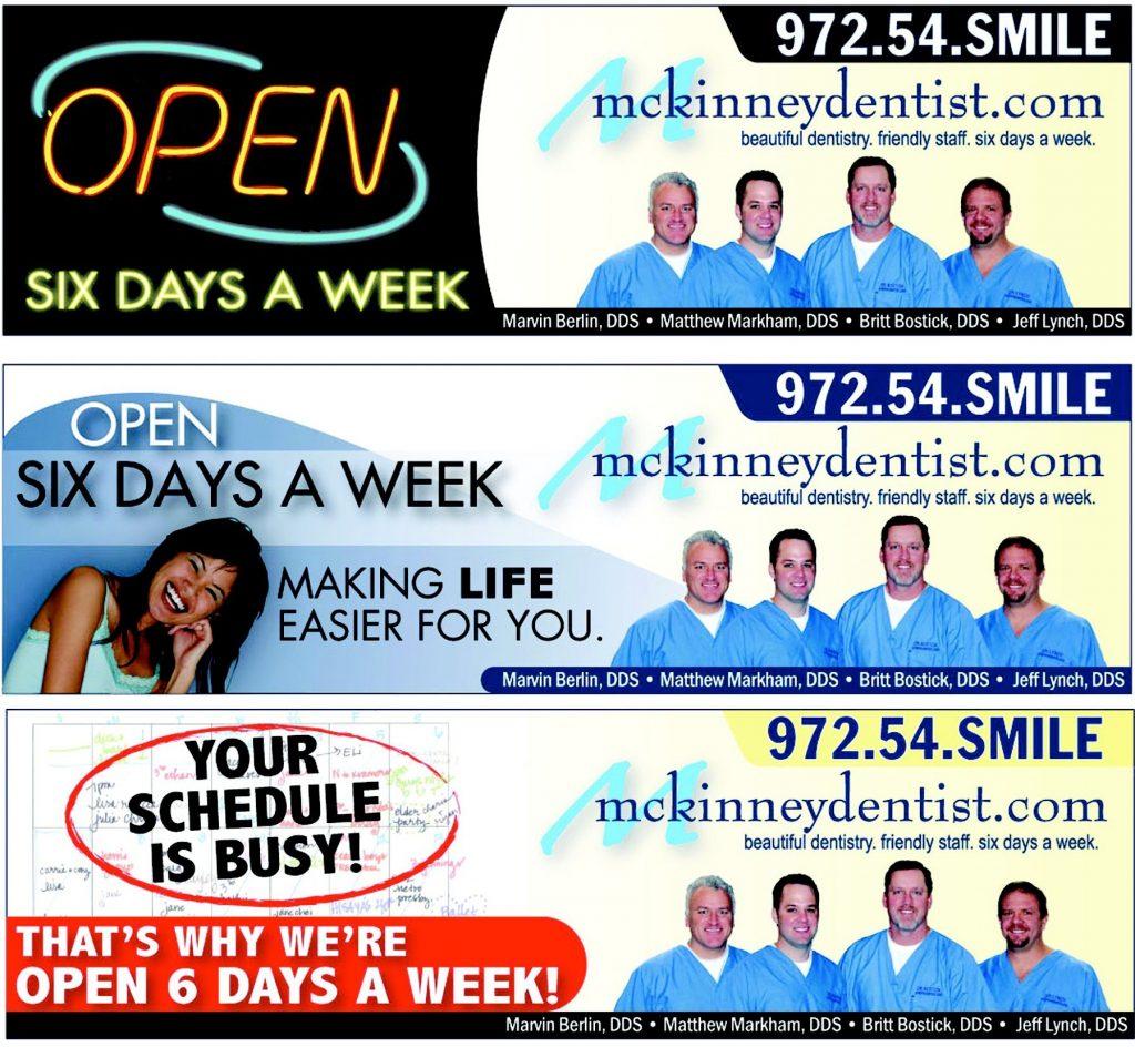 Sample Dental Billboard Ads