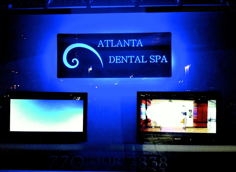 Dental Practice Window Display